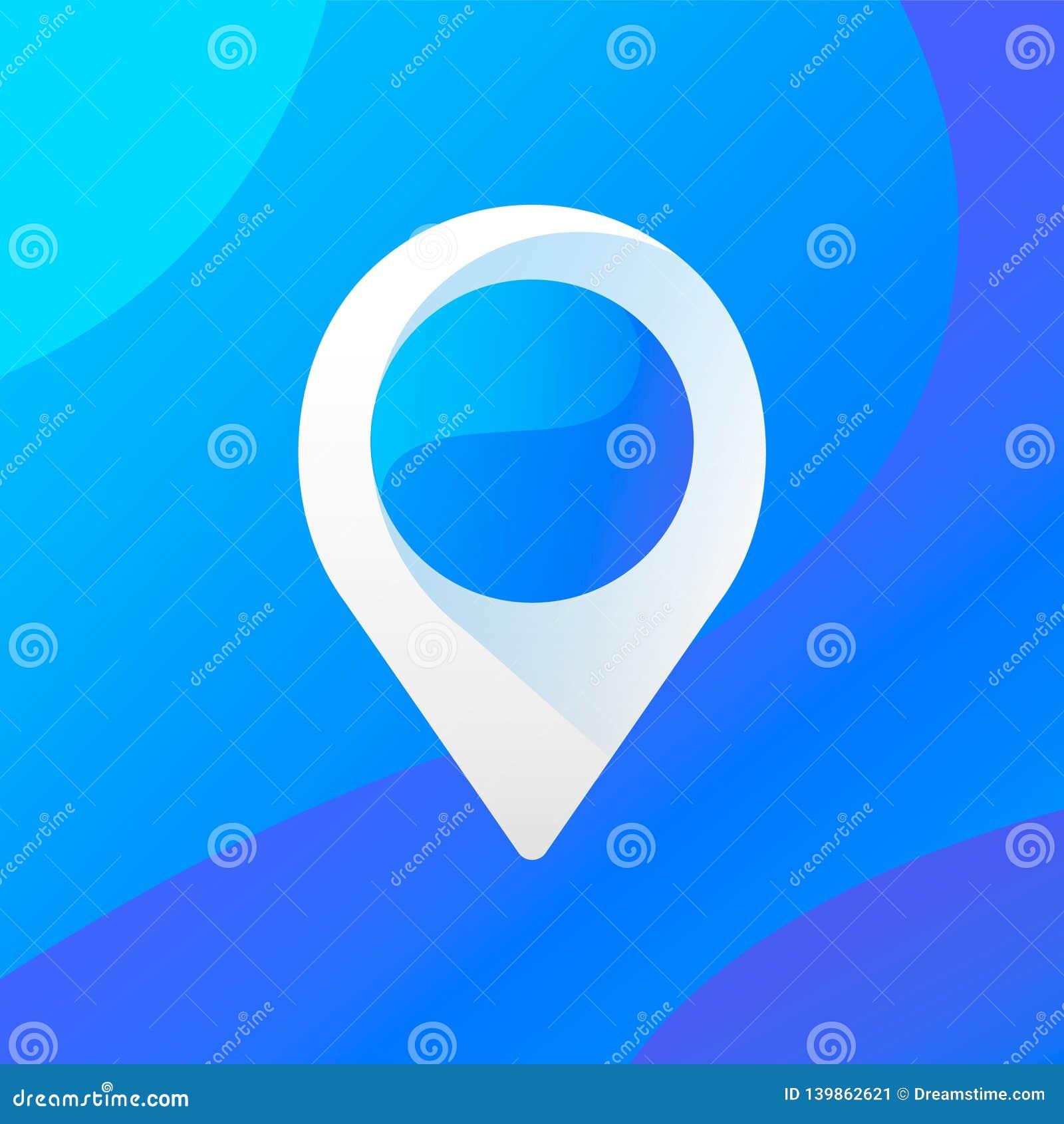 Point icon / logo. Ui design