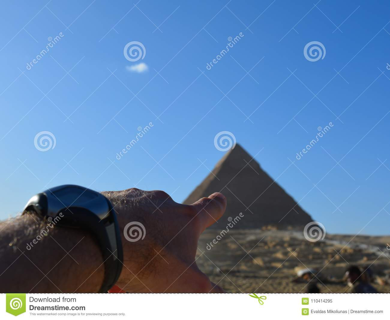 Point of interest is Egyptian pyramid