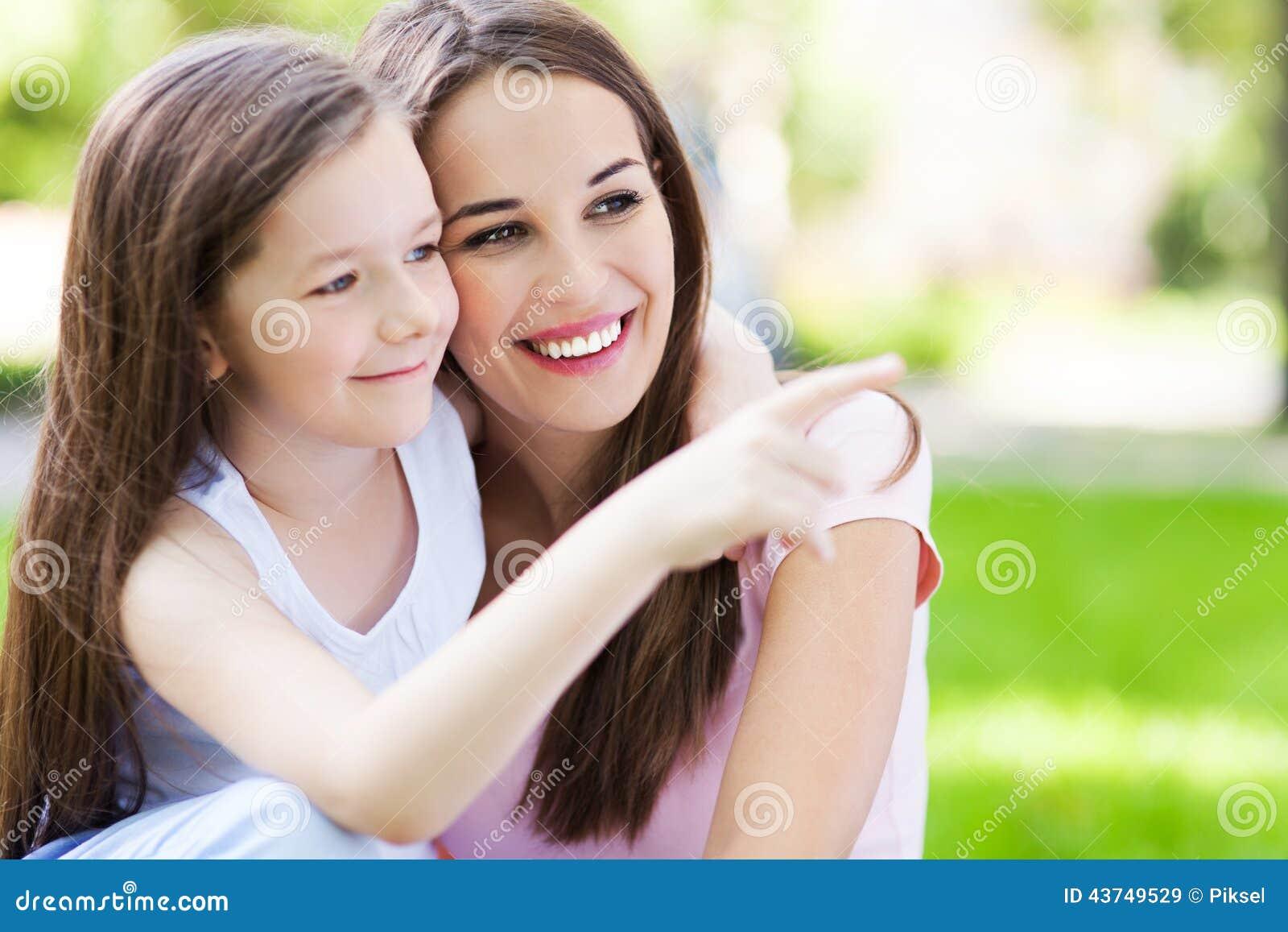 Pointage de mère et de descendant
