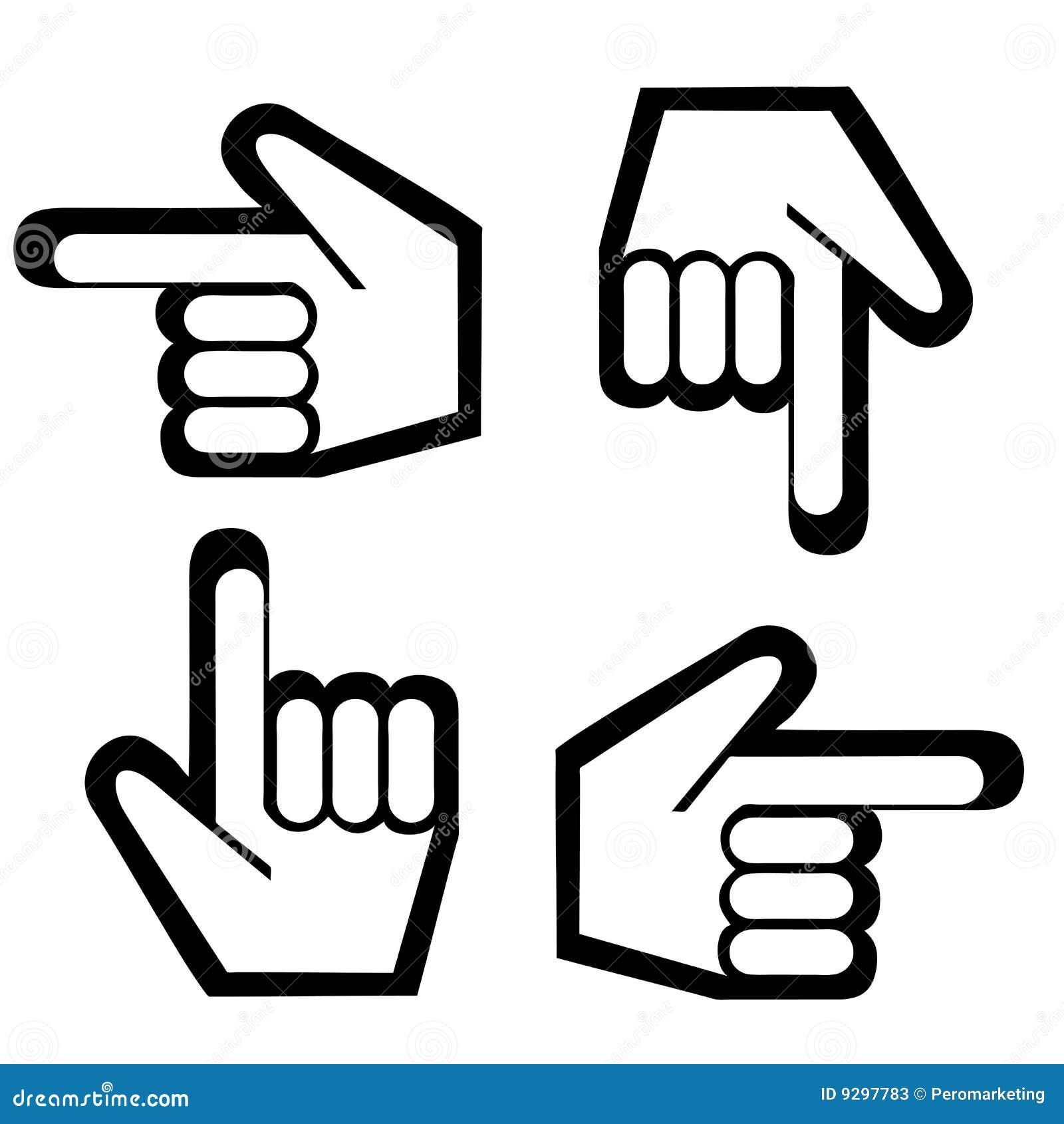 Pointage du dessin de doigt photos stock image 9297783 - Dessin de doigt ...