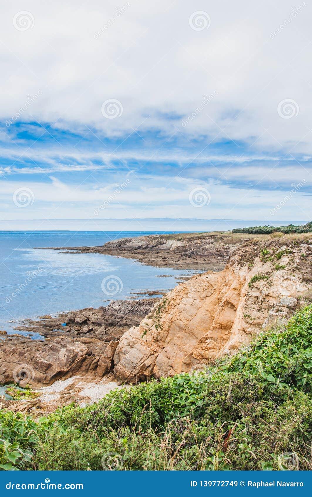 Pointe Άγιος-Mathieu σε Plougonvelin σε Finistère