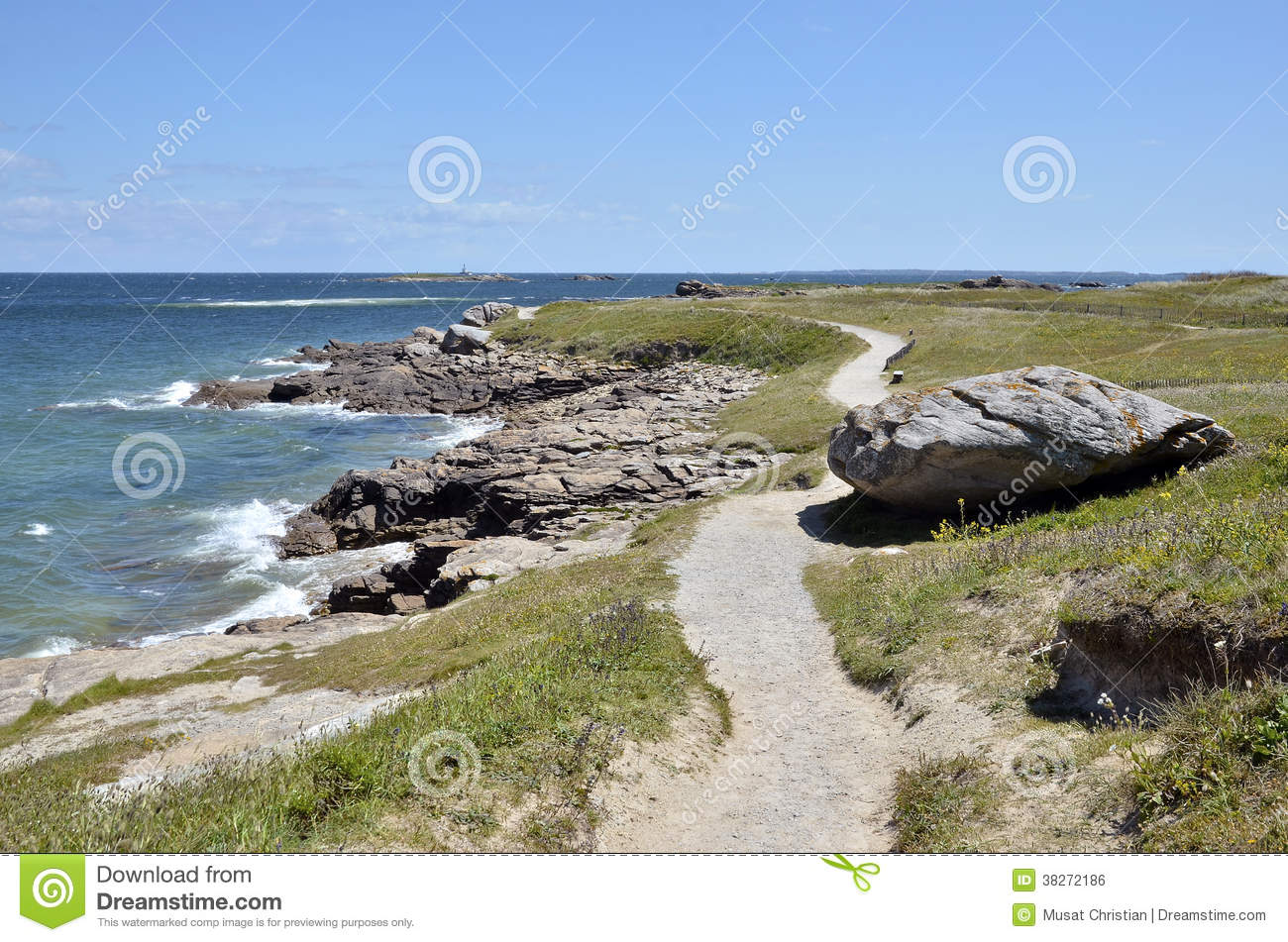 Quiberon France  City new picture : Pointe Du Conguel At Quiberon Peninsula In France Royalty Free Stock ...