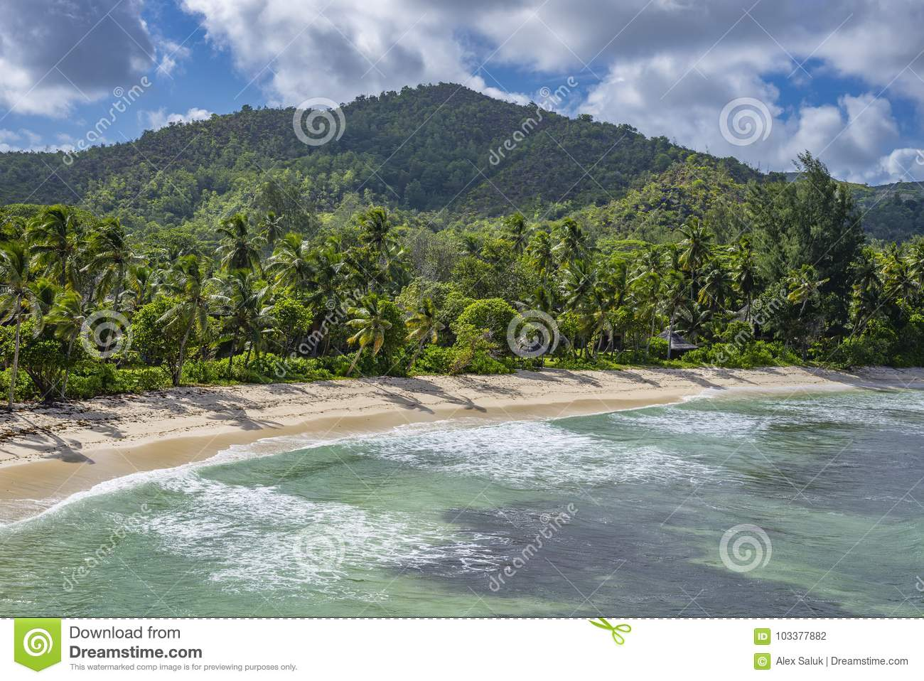 Pointe Ste Marie Seychelles Stock Photo Image Of African