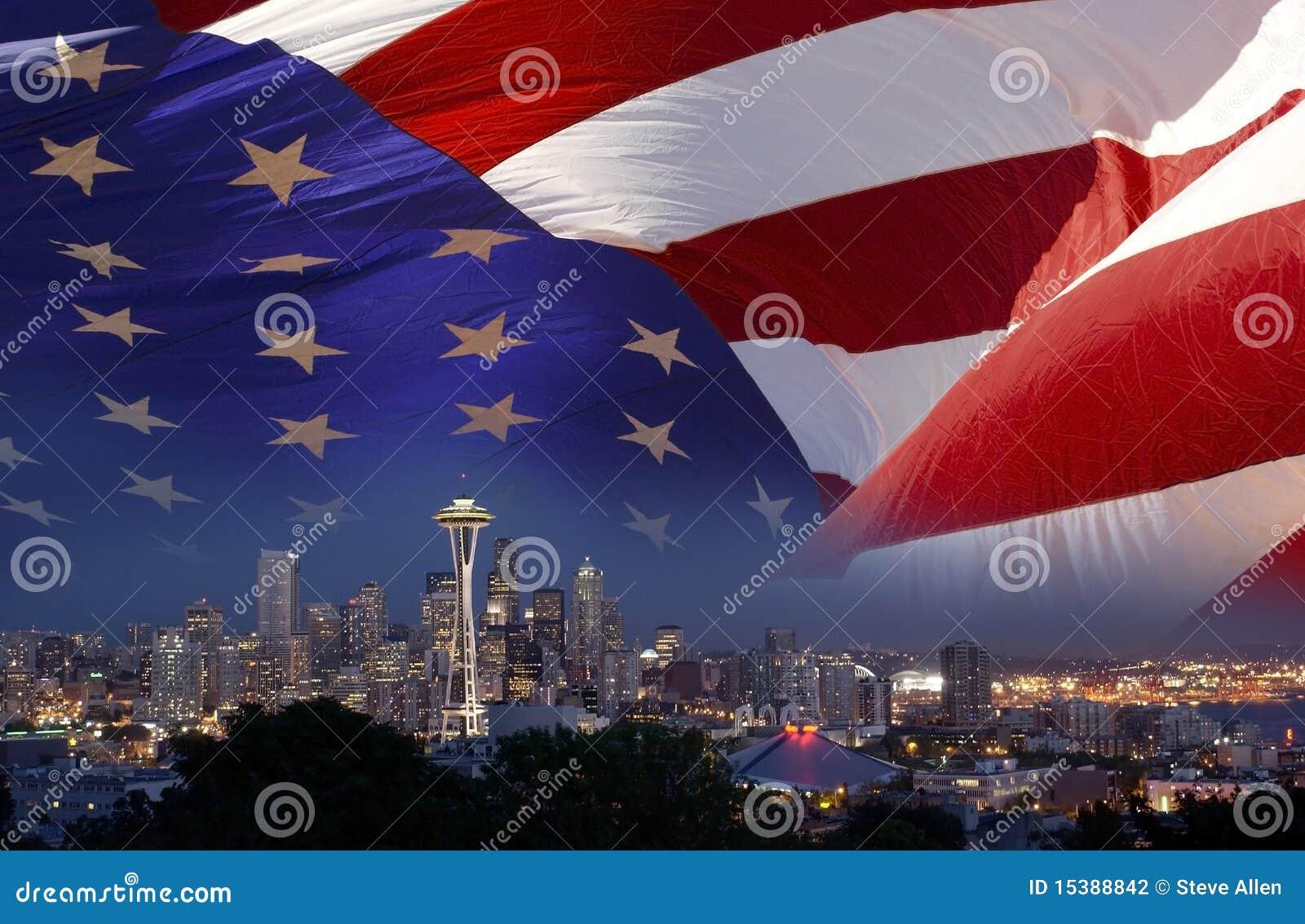 Pointeau de l espace de Seattle - Etats-Unis
