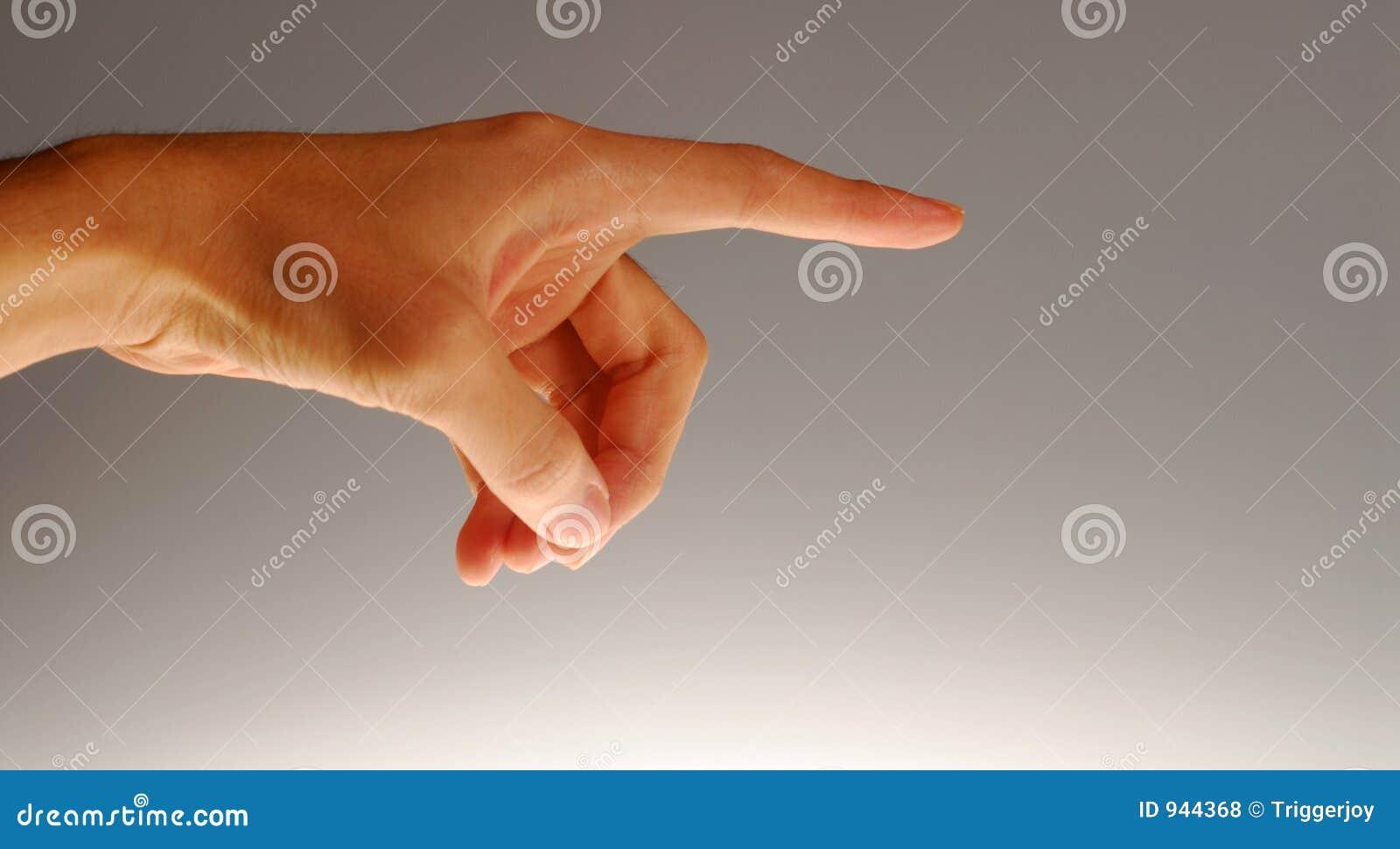 pointed finger stock photo 944368 megapixl