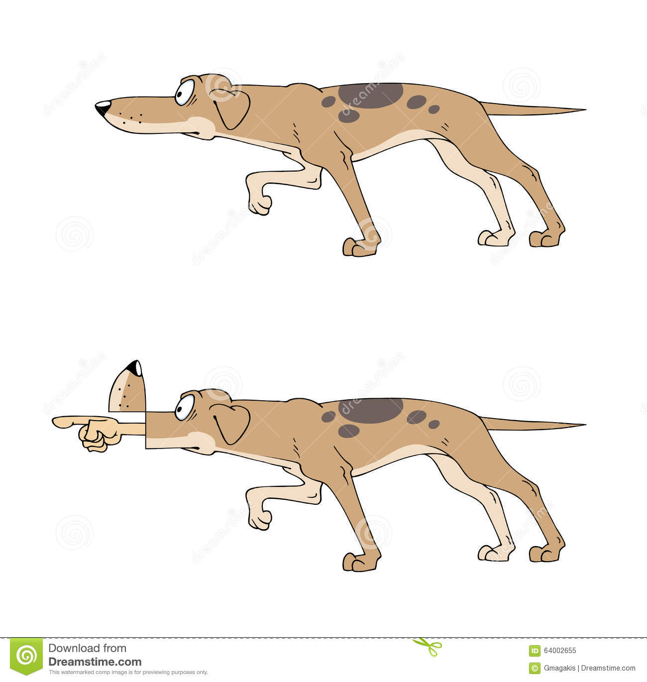 Pointer Hunting Dog Stock Illustrations – 222 Pointer Hunting Dog ...