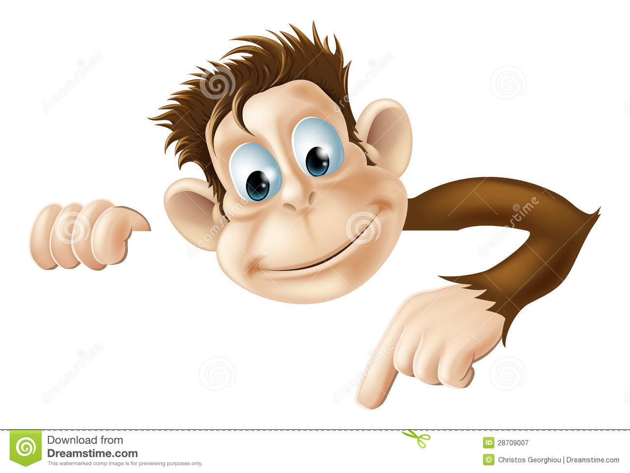pointing monkey royalty free stock photography image chimpanzee clip art free chimpanzee clip art free