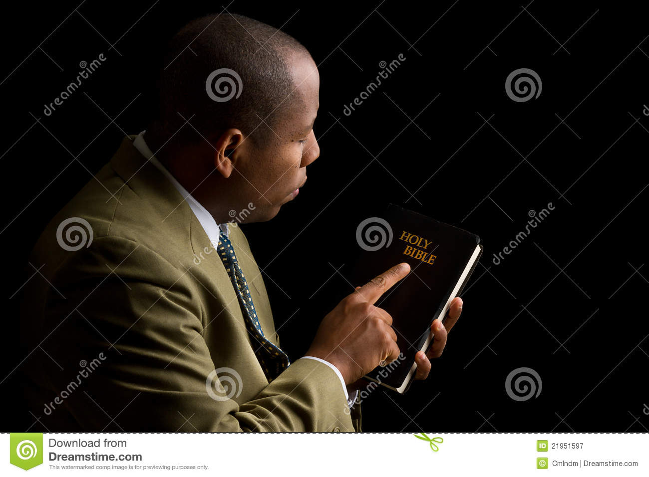 Pointing To The Holy Bible As The Answer Royalty Free Stock Photography Ima