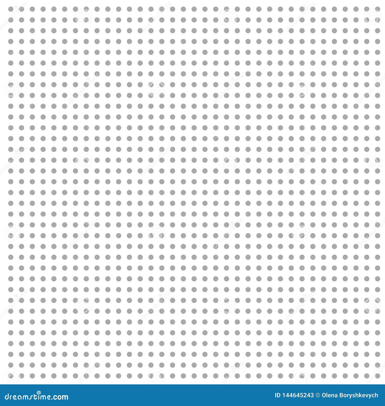 Points gris sur le fond blanc
