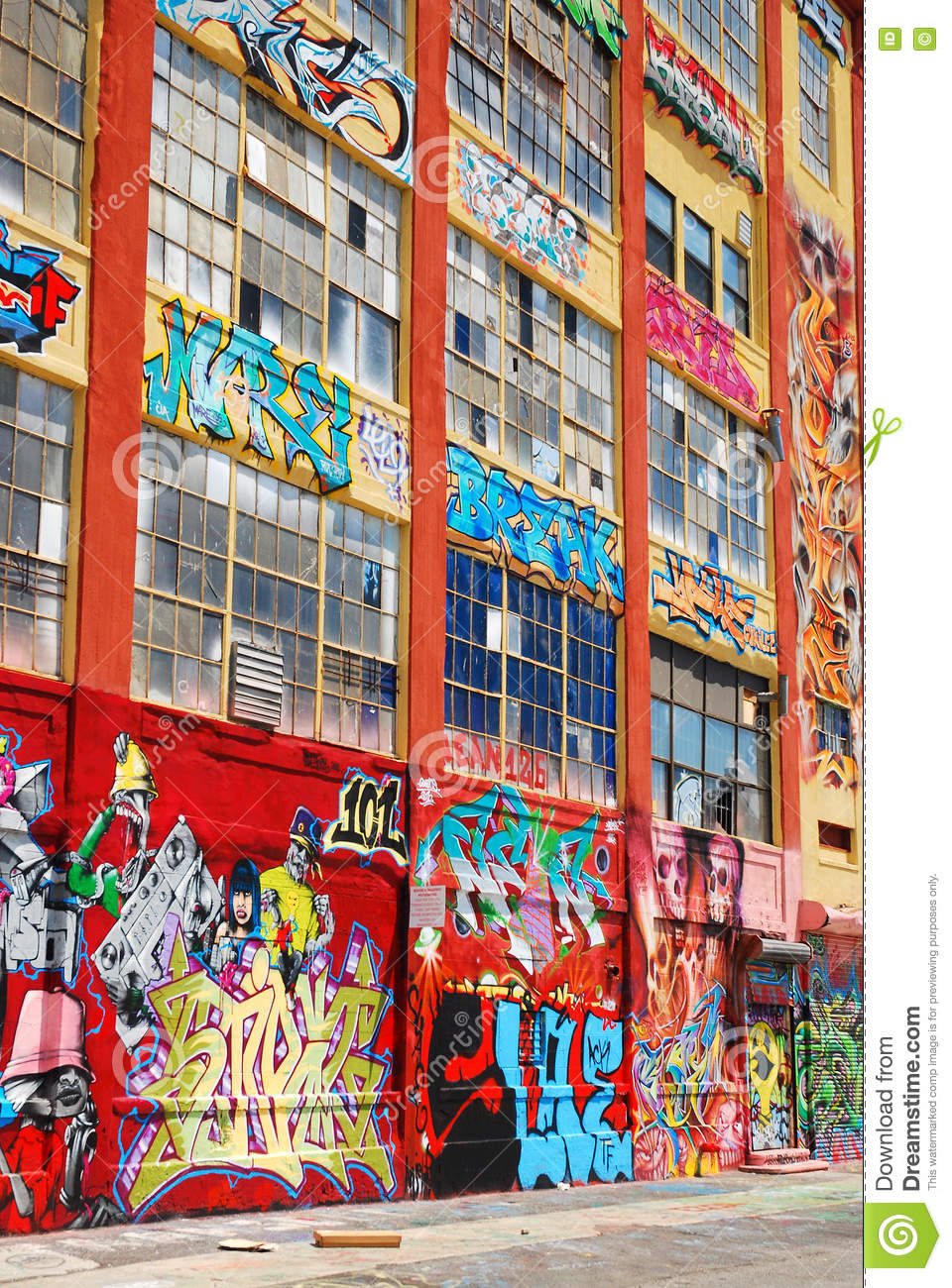 5 pointz was once the home to graffiti artists who were given a five story canvas to display their talents unfortunately the building was bought by a
