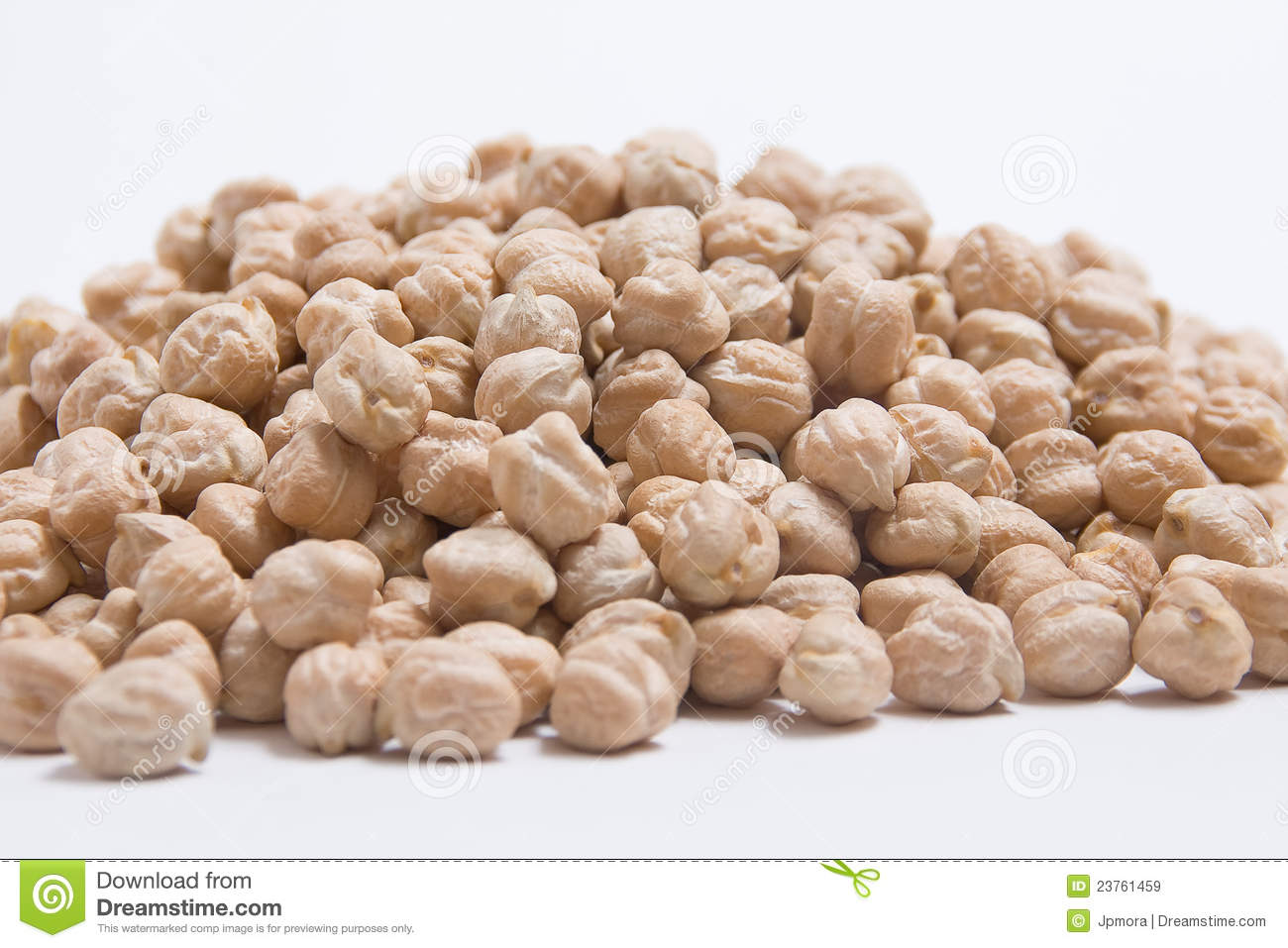 Pois chiches crus image stock. Image du nutrition, normal..