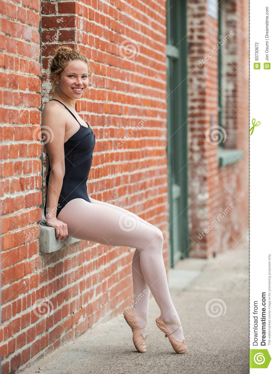 Poised and posture in the window