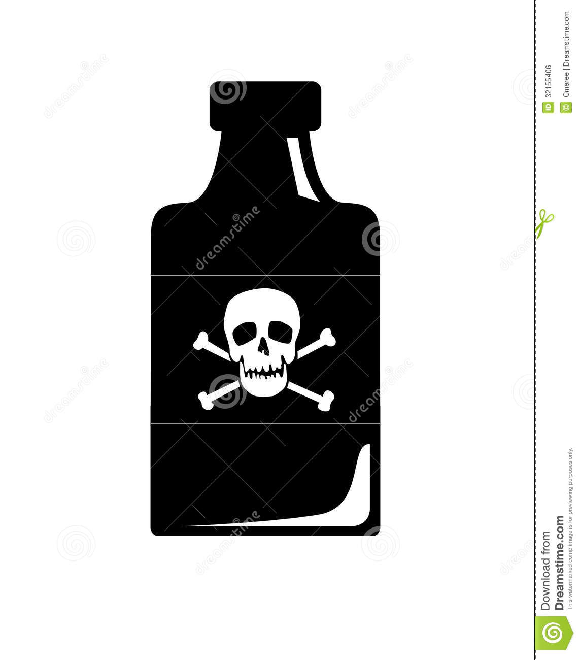 Poison Royalty Free Stock Image - Image: 32155406