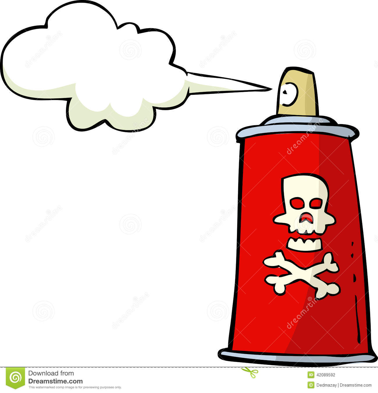Kitchen Designers Poison Spray Stock Vector Image 42089592
