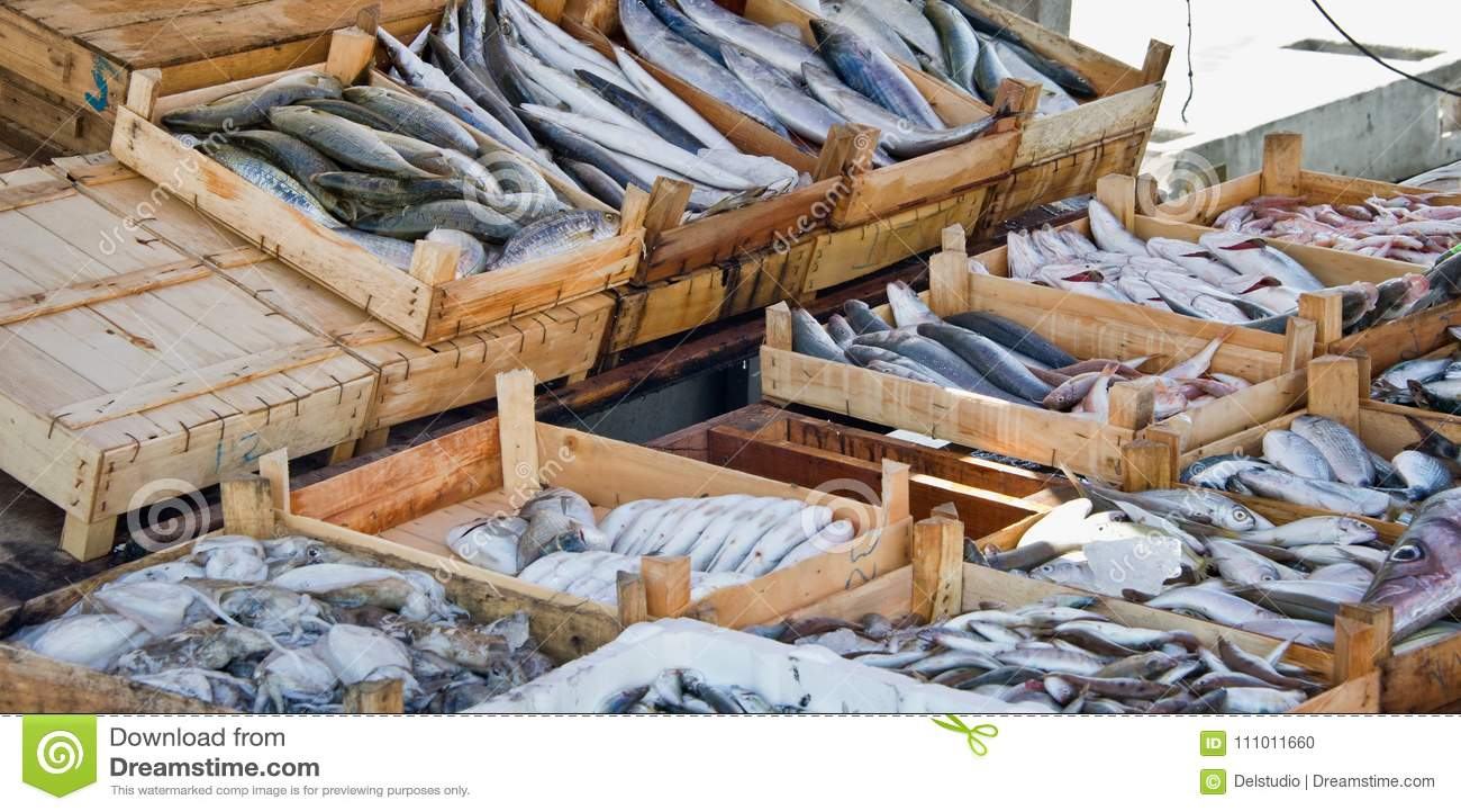 poisson frais en vente sur le march du port de bodrum turquie photo stock image du drapeau. Black Bedroom Furniture Sets. Home Design Ideas