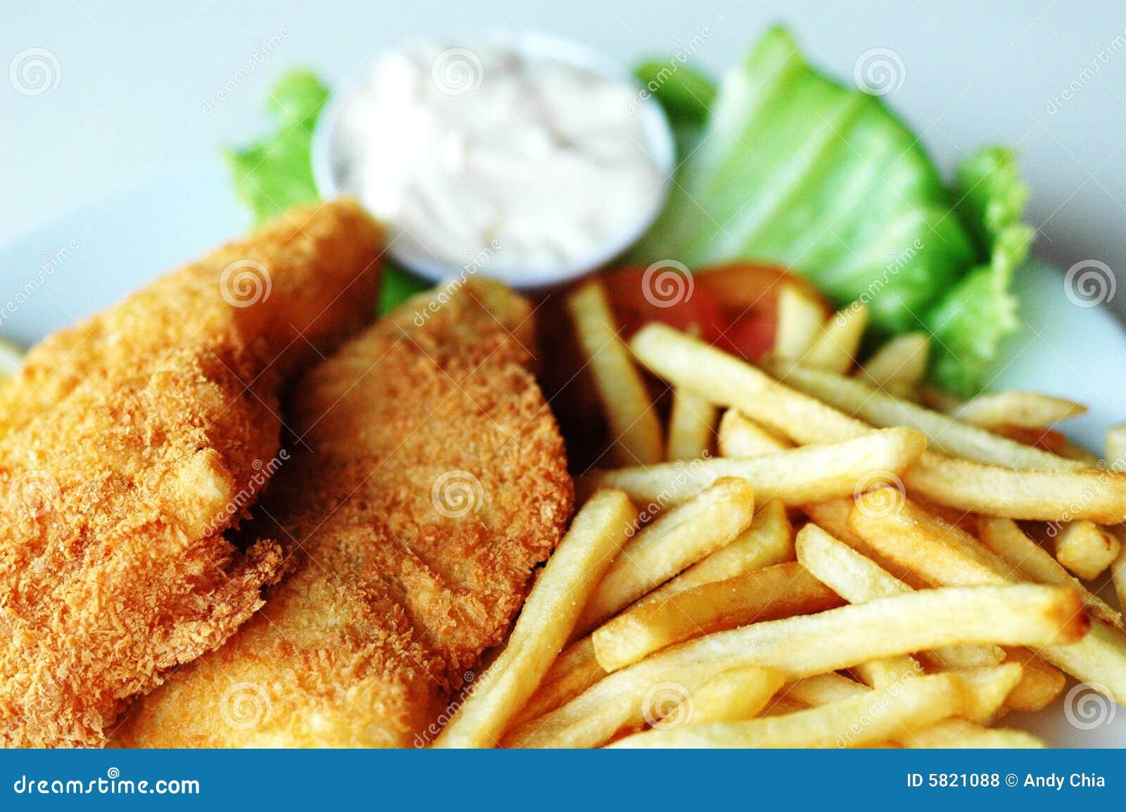 Poisson-frites