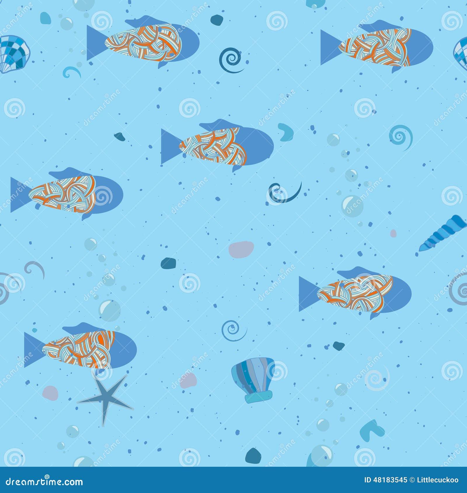 poissons en mer mod le sous marin texture sans joint de. Black Bedroom Furniture Sets. Home Design Ideas