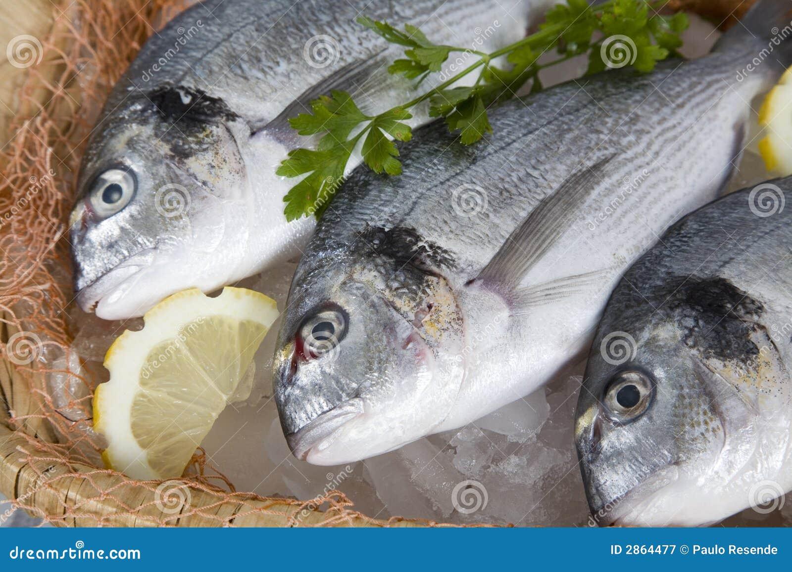 Poissons frais image stock image du d licieux achat for Achat poisson