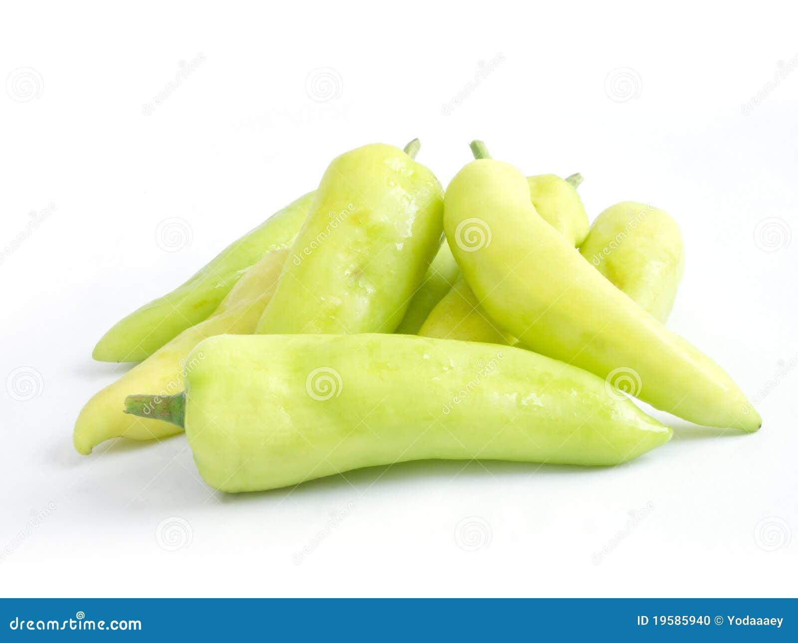Poivron doux vert clair photo stock image 19585940 - Cuisiner le poivron vert ...
