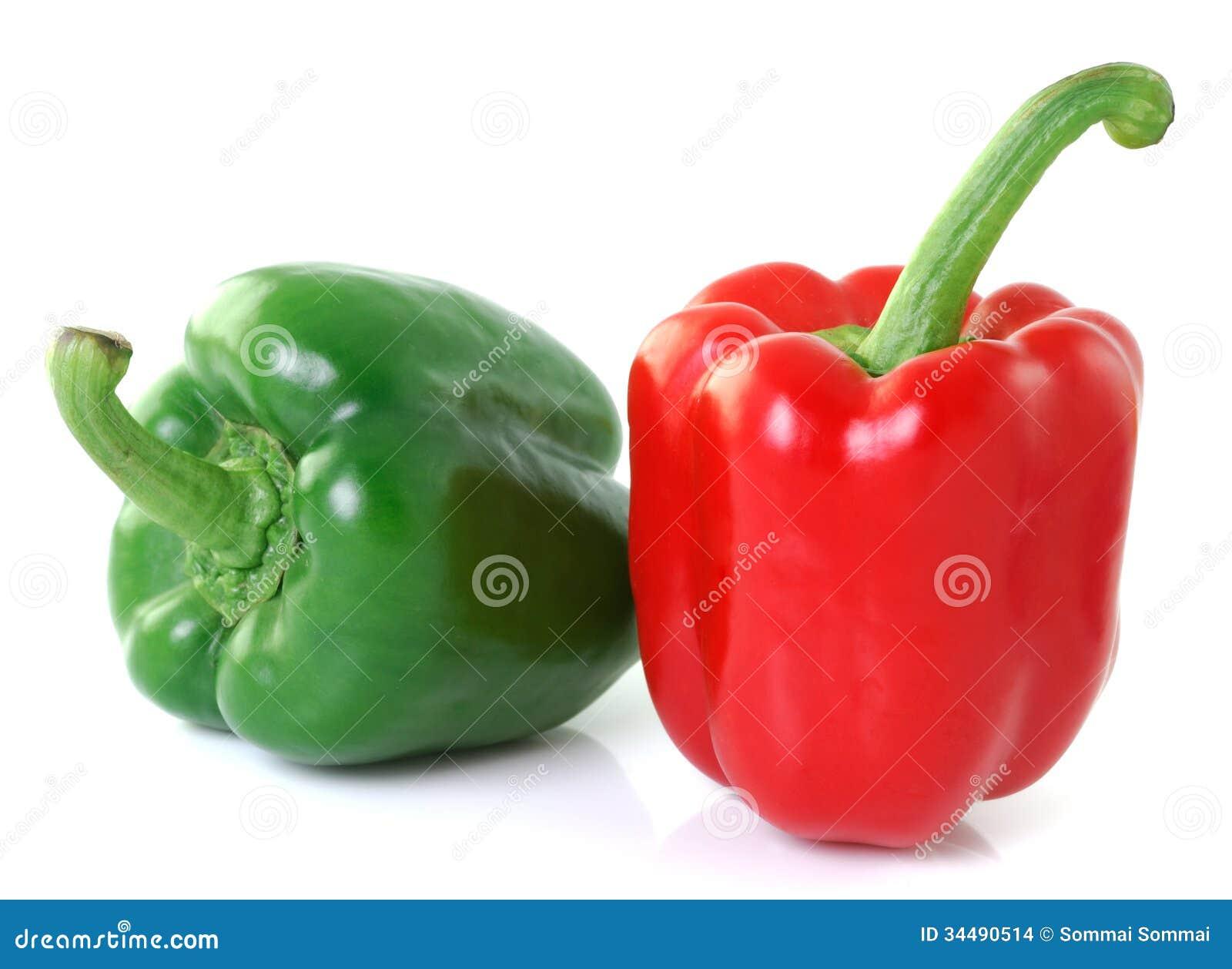 Rouge vert id es novatrices de la conception et du - Cuisiner le poivron vert ...