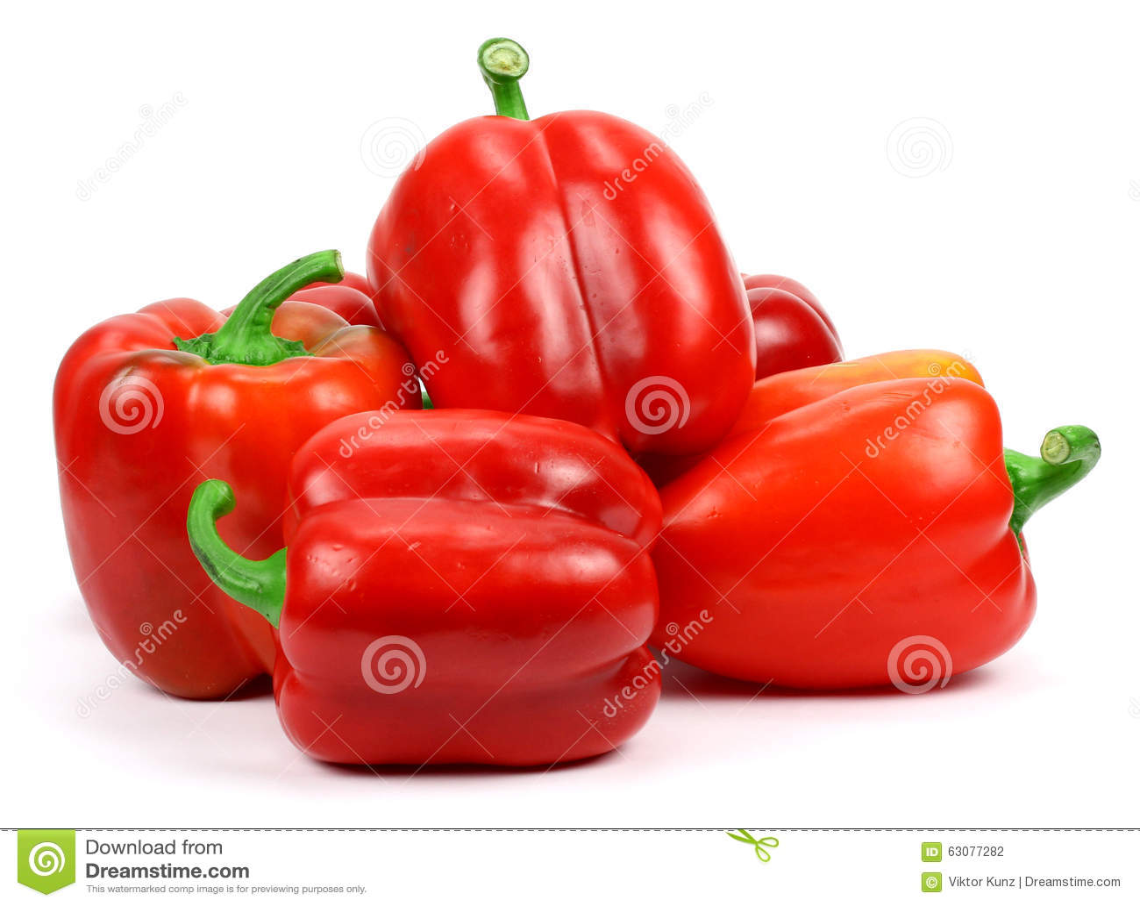 Download Poivrons rouges photo stock. Image du produit, mûr, automne - 63077282