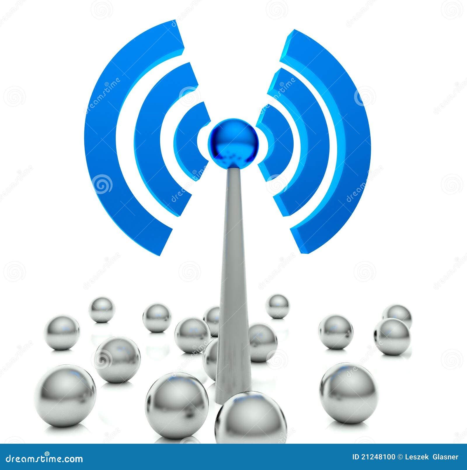 Pojęcia gorący ikony internetów punktu wifi