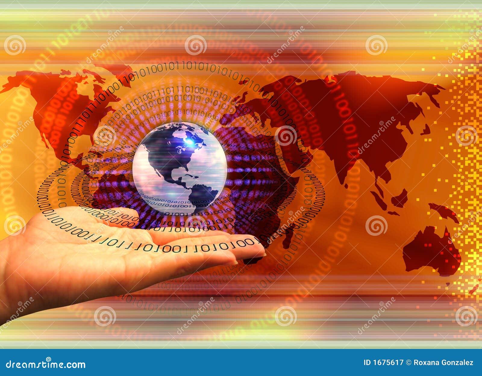 Pojęcia komputerowego globalnej technologii