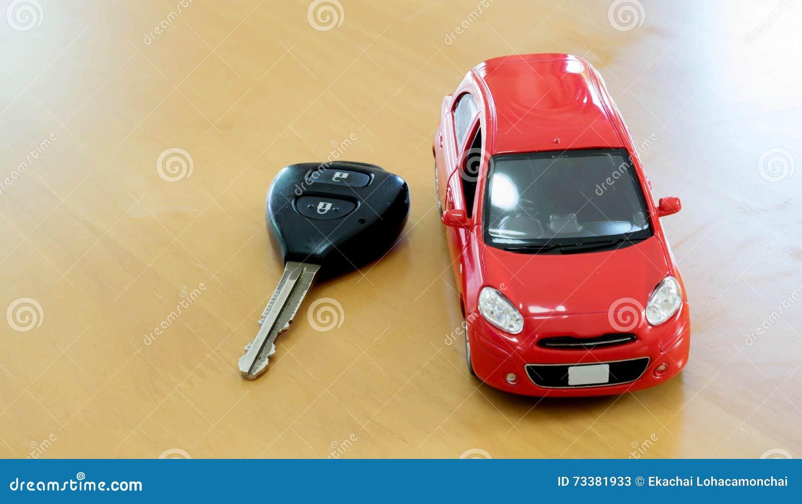 Pojęcia kupna kluczyki na czynsz zabawki white Czynszowy lub zakup samochód