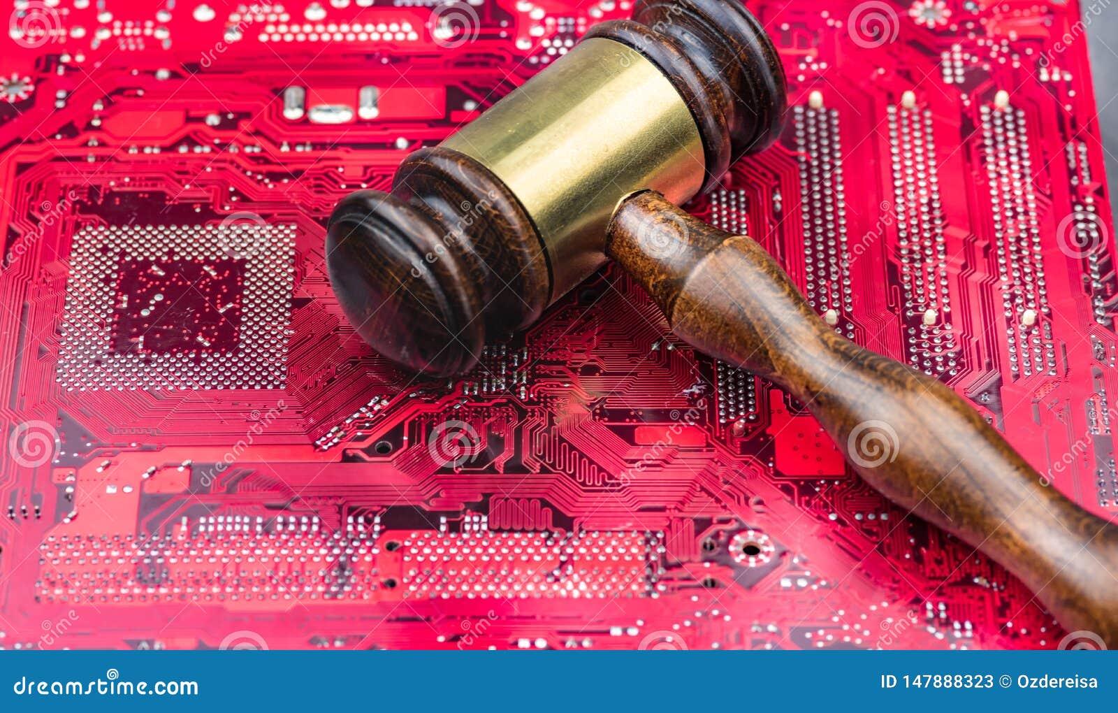 Pojęcia prawa sędziego wizerunek dla interneta