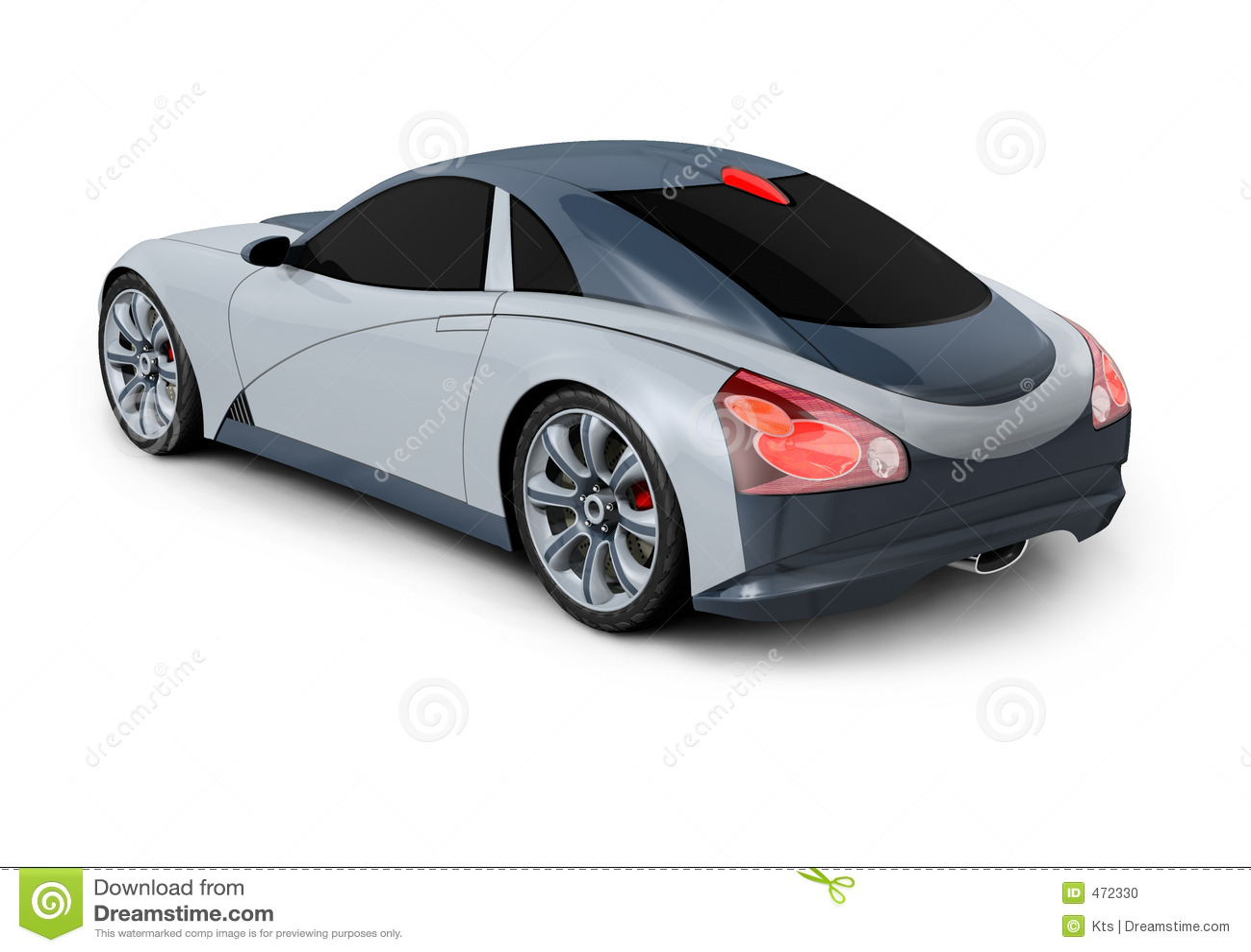 Pojęcia samochód projektu 3 d