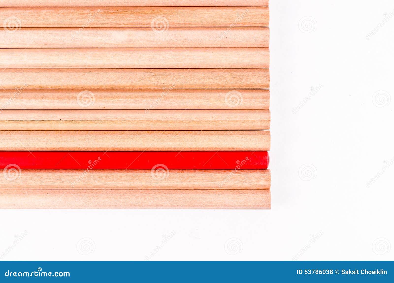 Pojęcie abstrakt ołówka tło z przestrzenią