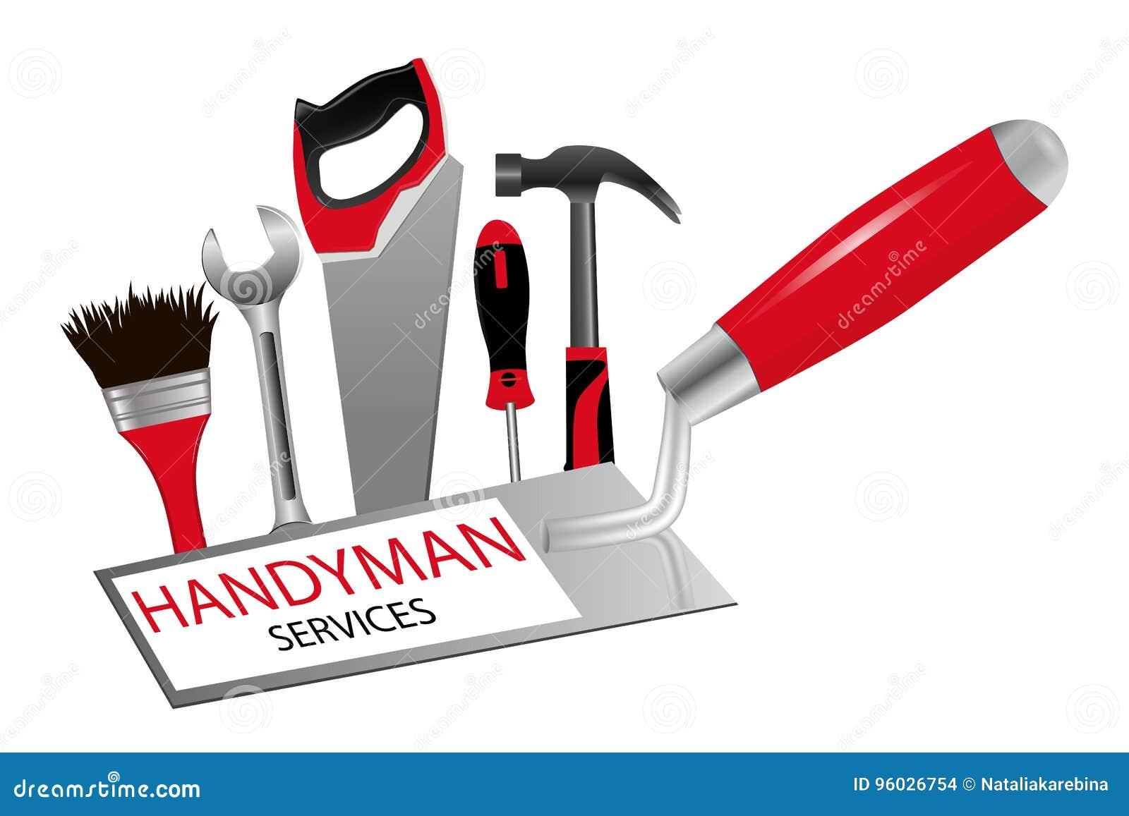 Pojęcie budowa i naprawy Logo dla zawodu