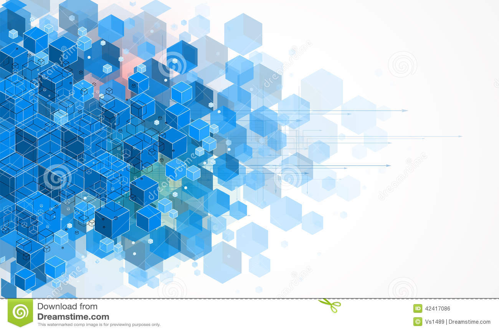Pojęcie dla nowa technologia Korporacyjnego biznesu rozwoju &