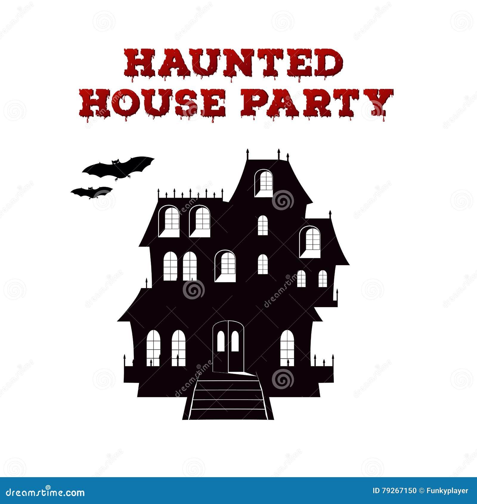 Pojęcie Projekt Zaproszenie Ulotka Dla Halloween Przyjęcia Plakatowy