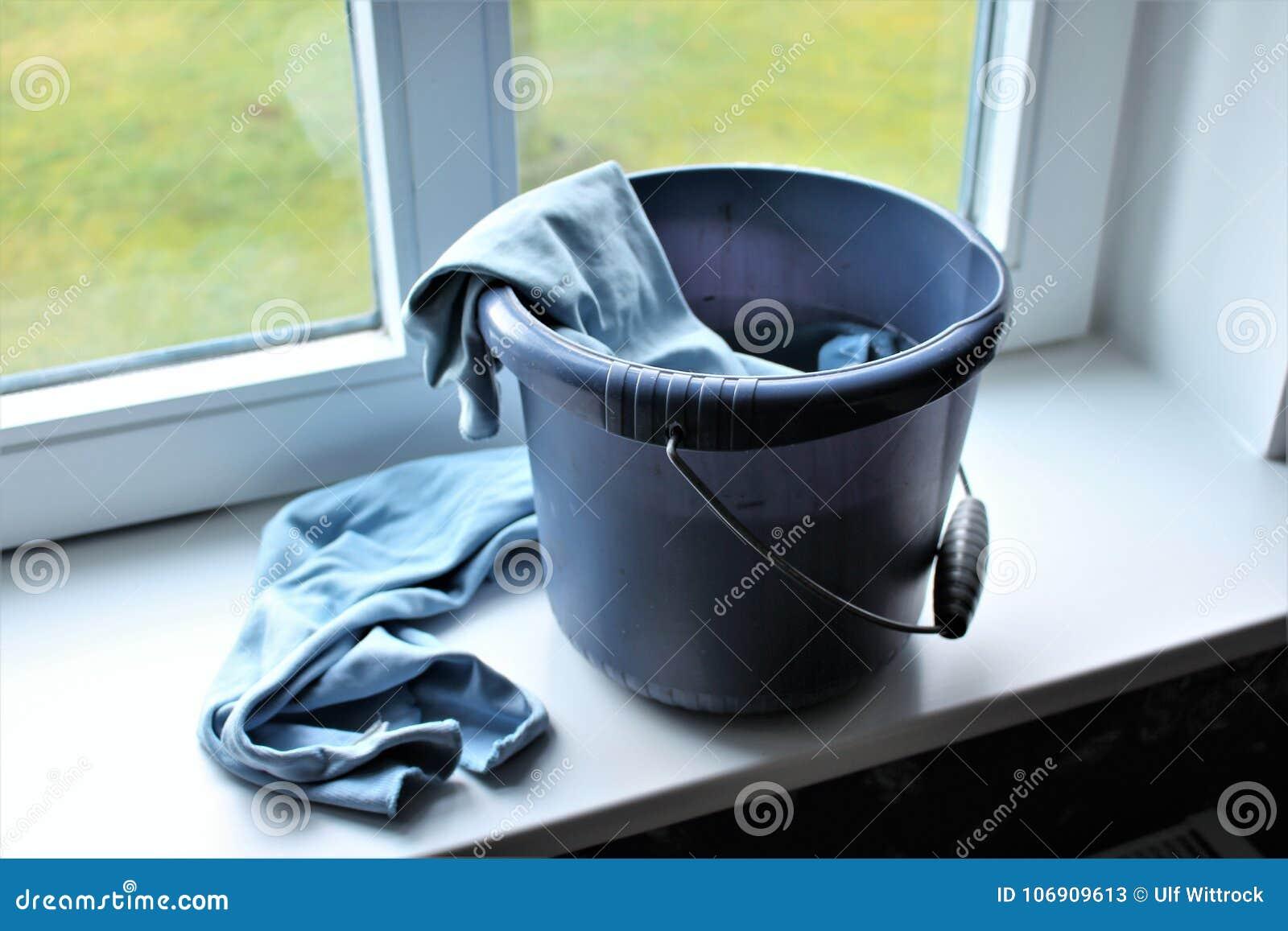Pojęcie wizerunek czyścić okno