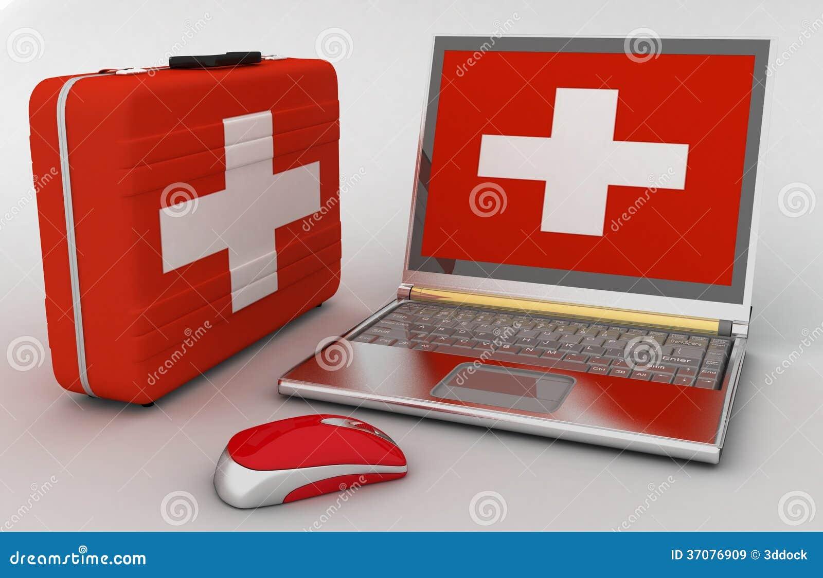 Download Pojęcie Diagnoza I Naprawa Komputer Ilustracji - Ilustracja złożonej z mobile, metal: 37076909