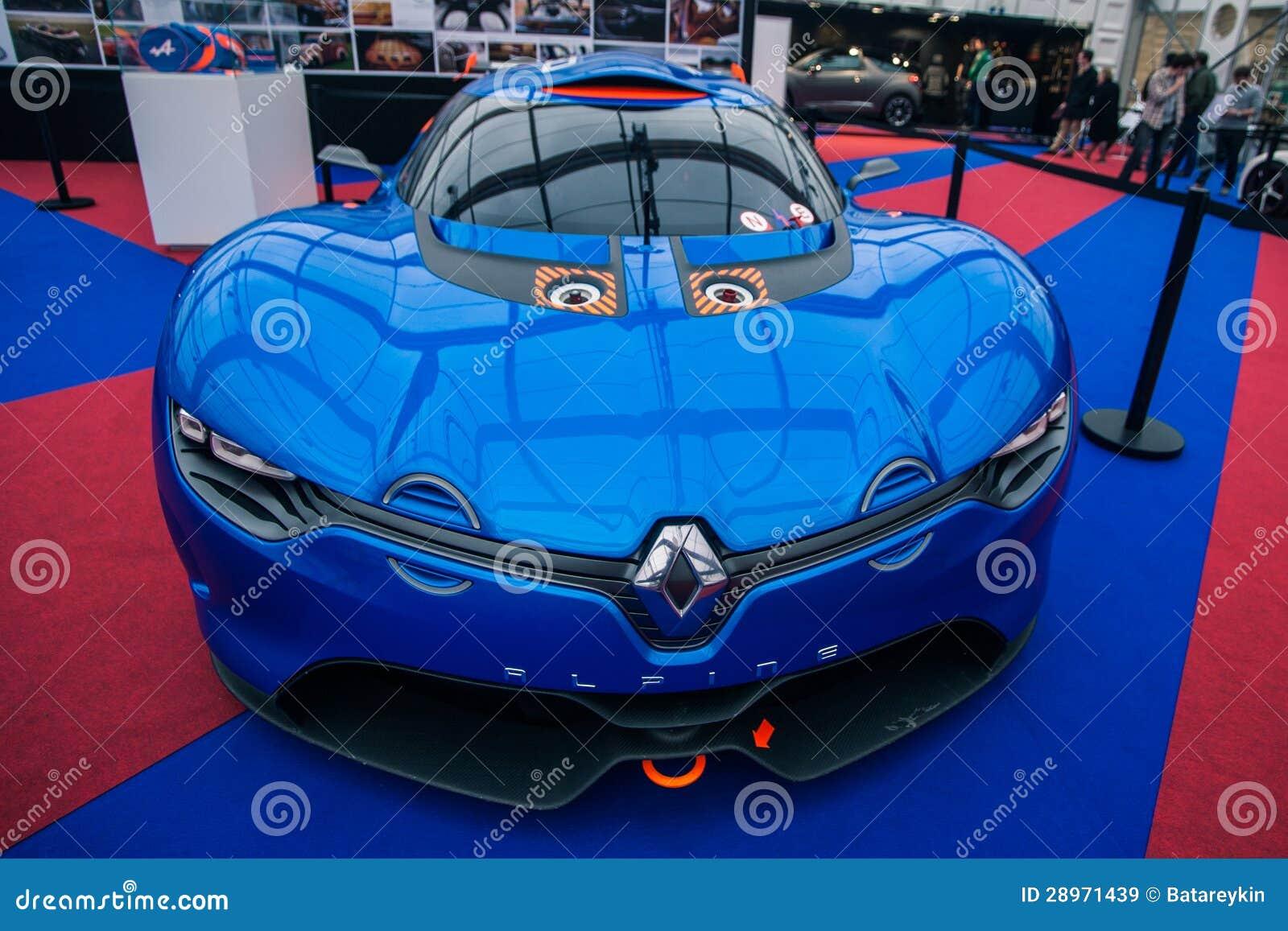Pojęcie samochodowy Renault Alpejski A110-50