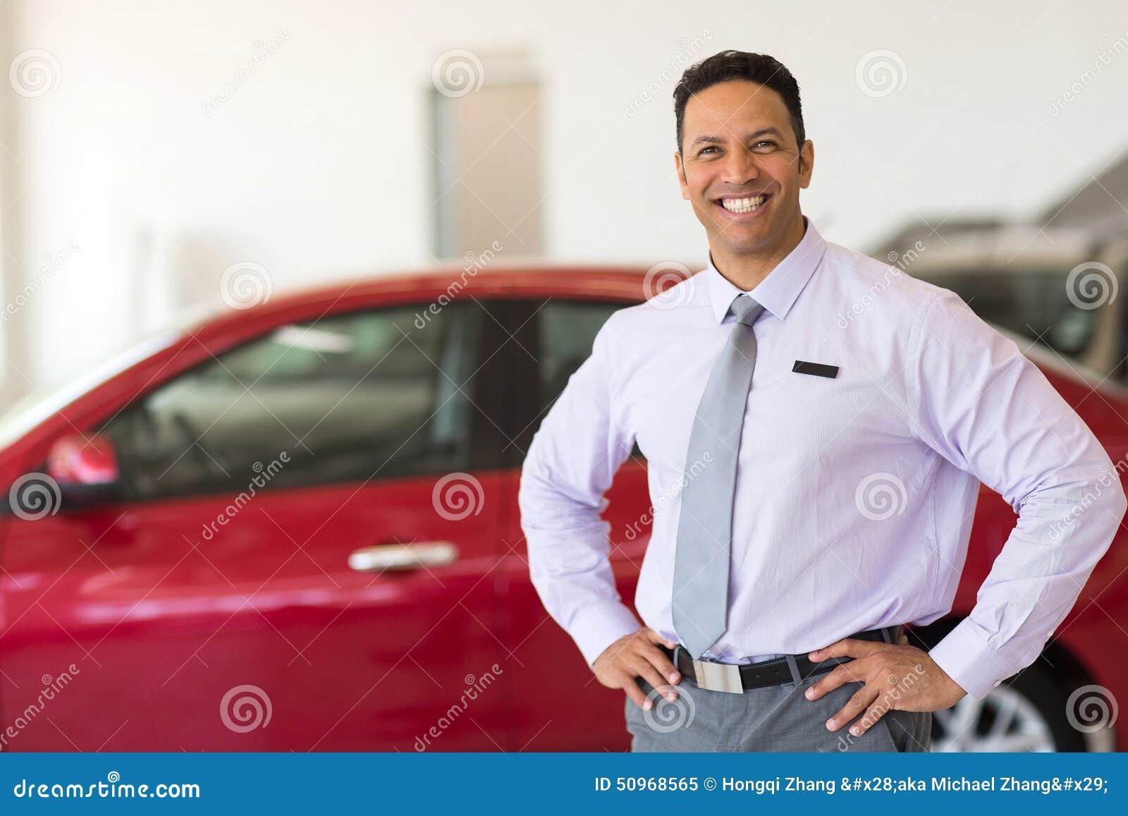 Pojazd sprzedaży konsultant