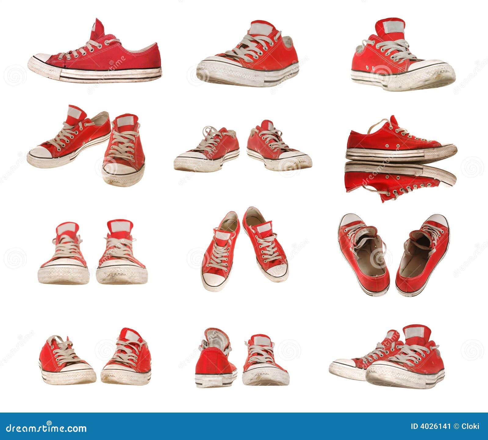 Pojedynczy buty sportowe