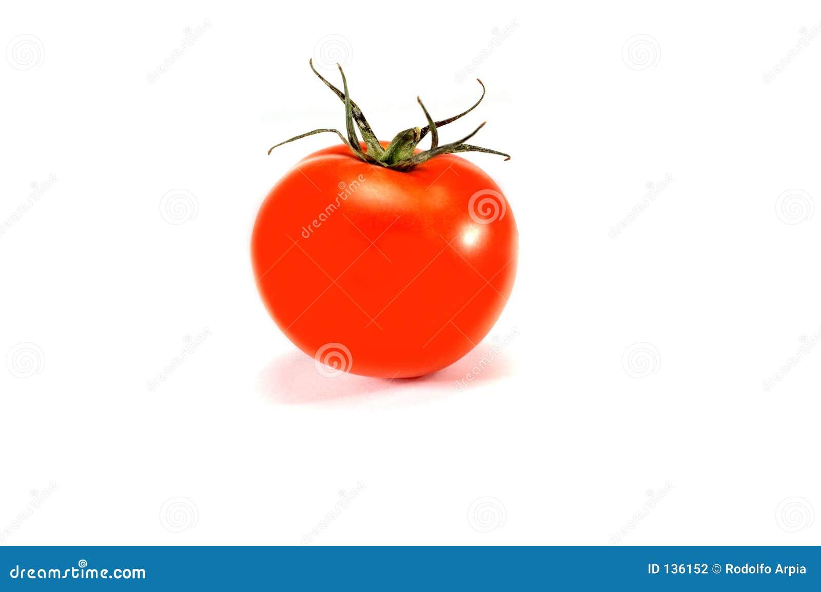 Pojedynczy pomidor organicznych