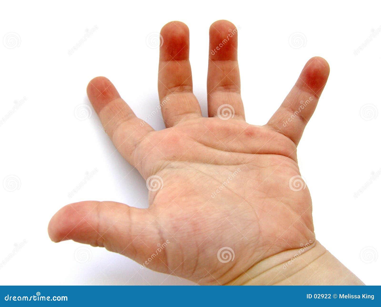Pojkar hand little