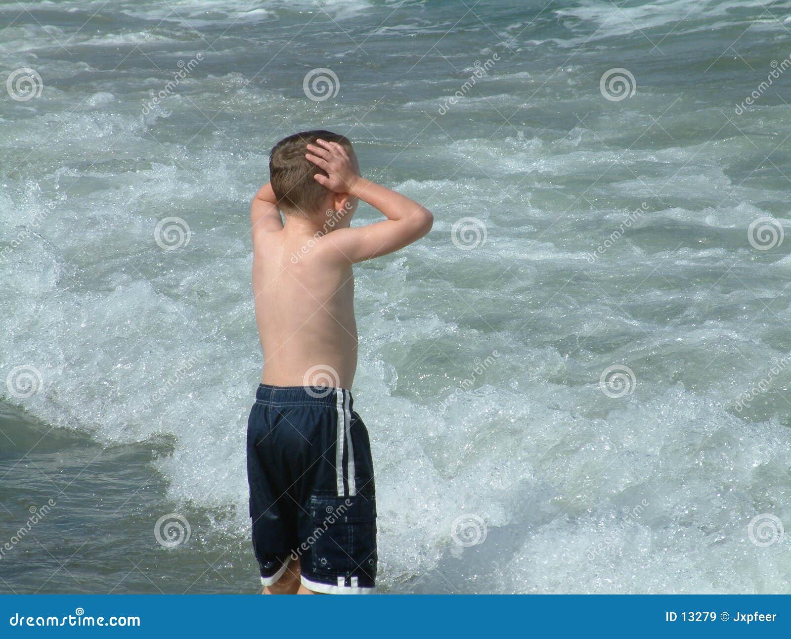 Pojke för 2 strand