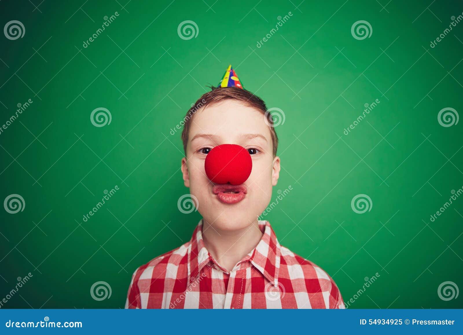 Pojke med den röda näsan