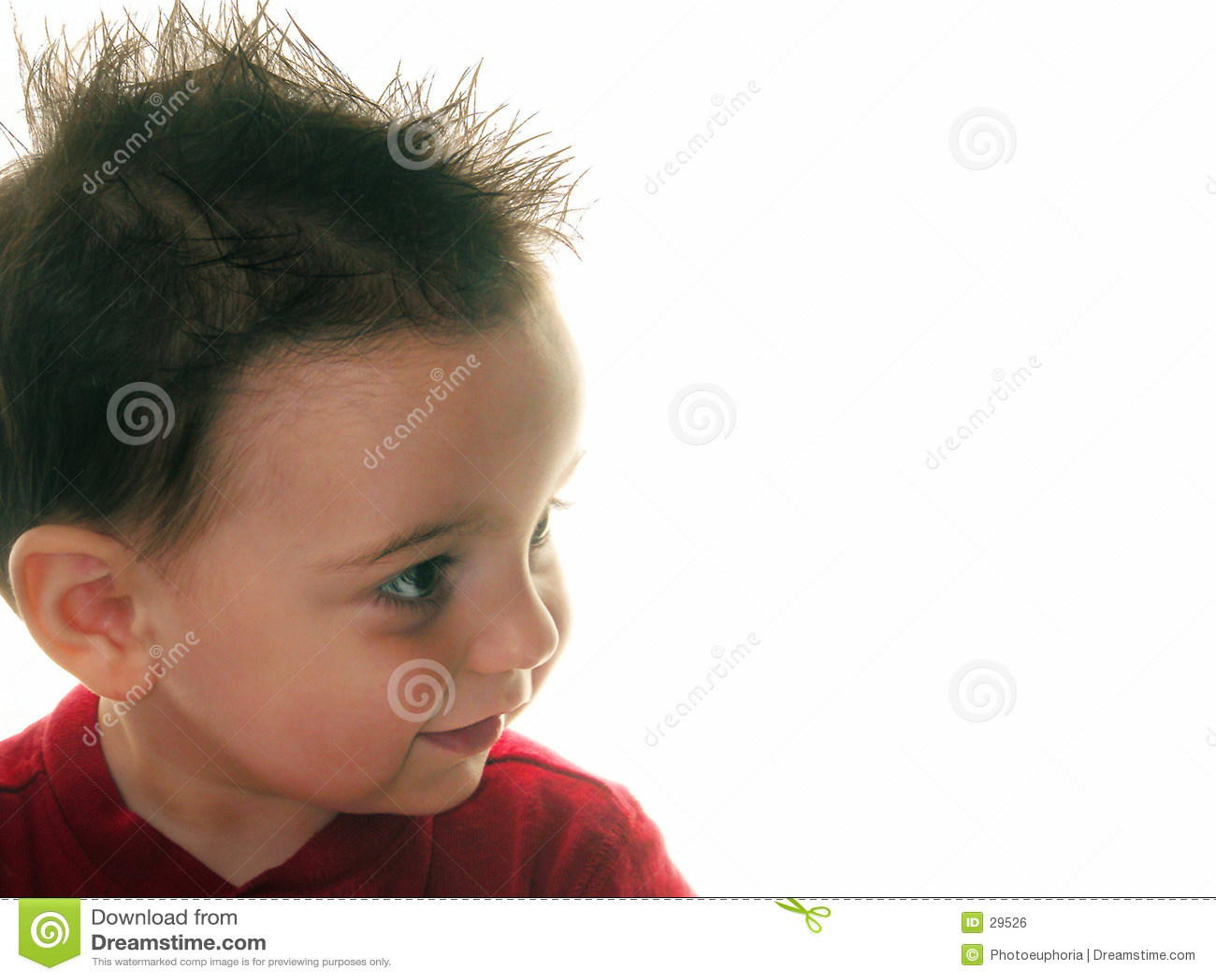 Pojkebarn profile broddat s