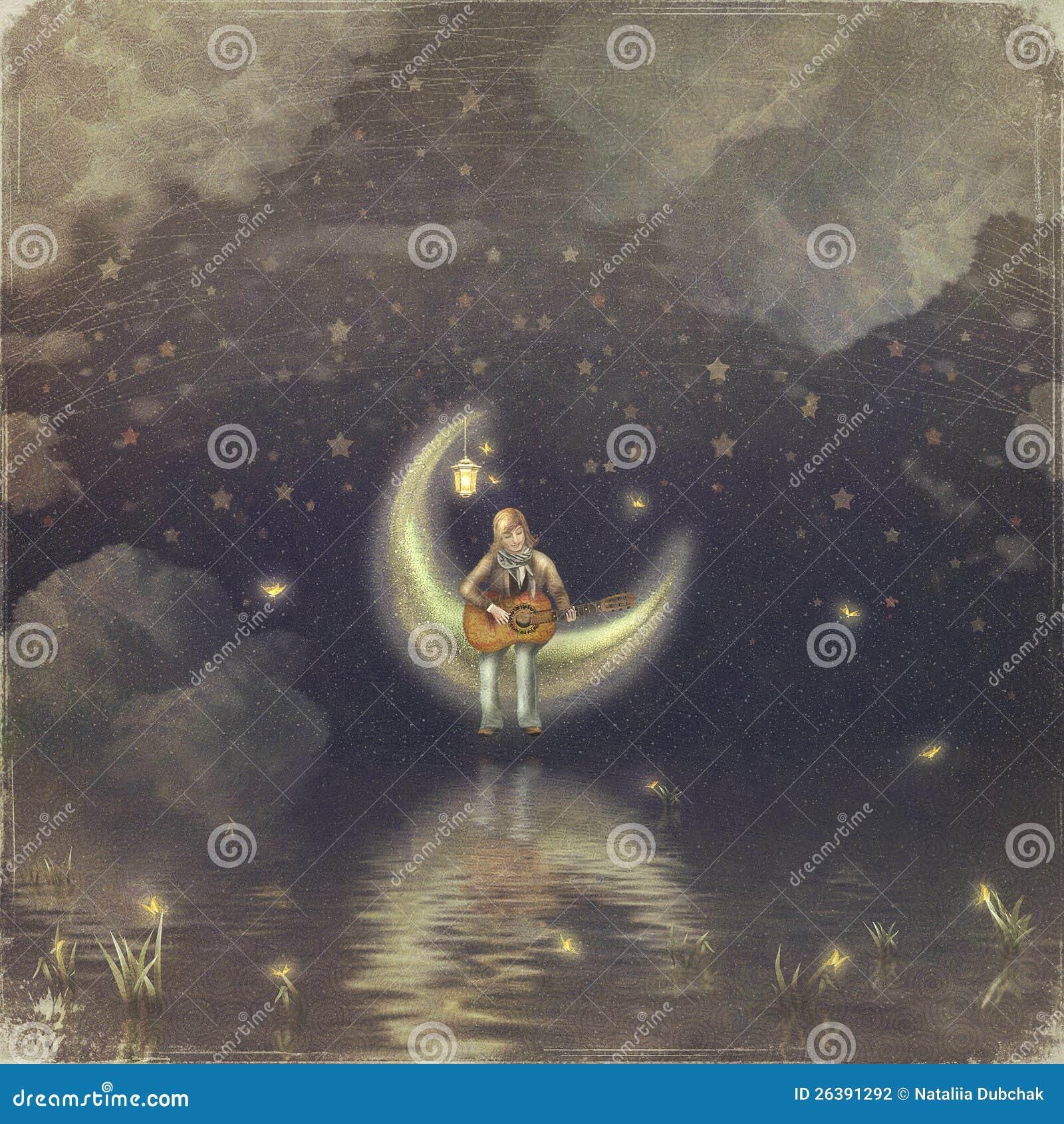 Pojken med en Moon
