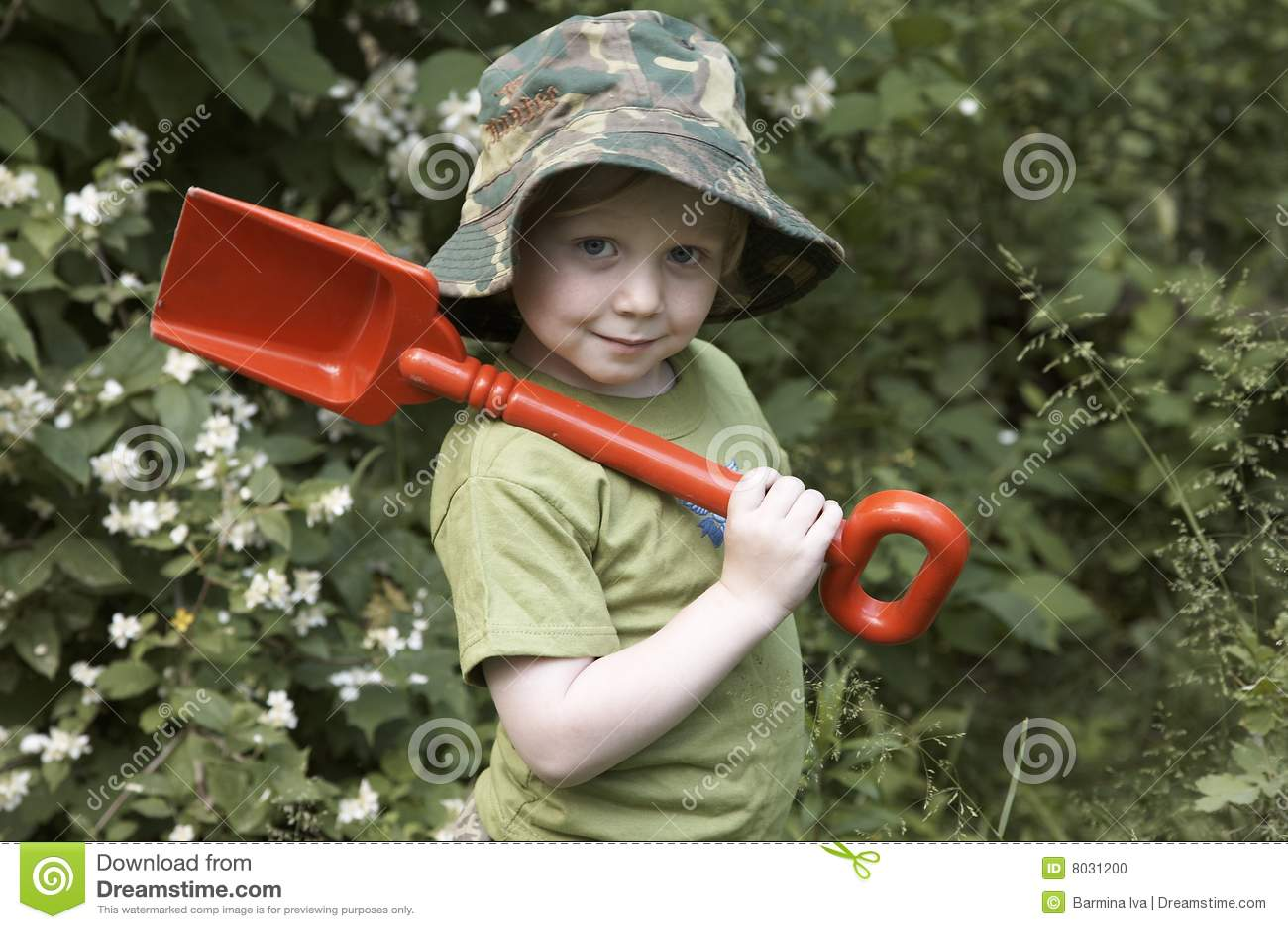 Pojketrädgård