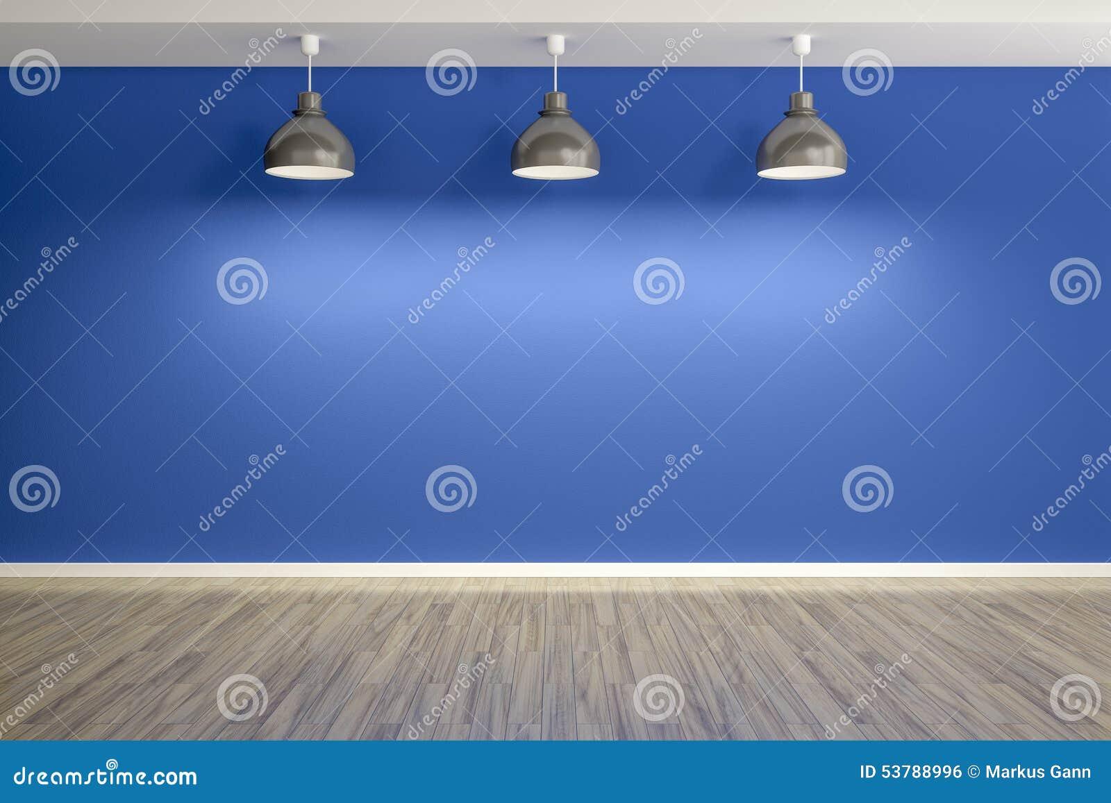Pokój z lampami