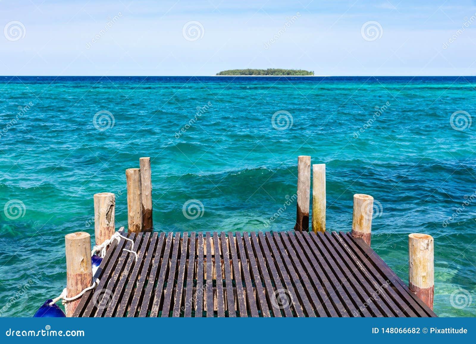Pokładu oceanu indyjskiego seascape Unguja Zanzibar wyspa Tanzania Afryka Wschodnia
