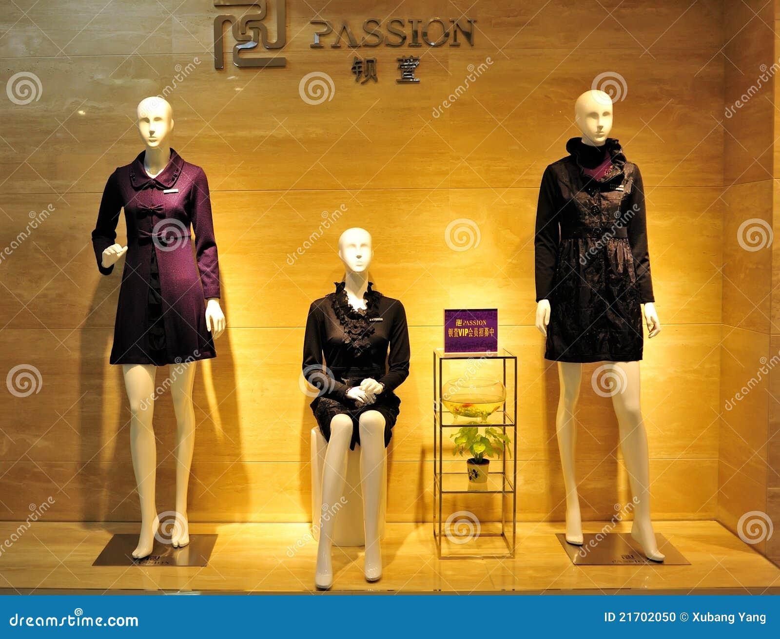 Pokazu mody mannequin