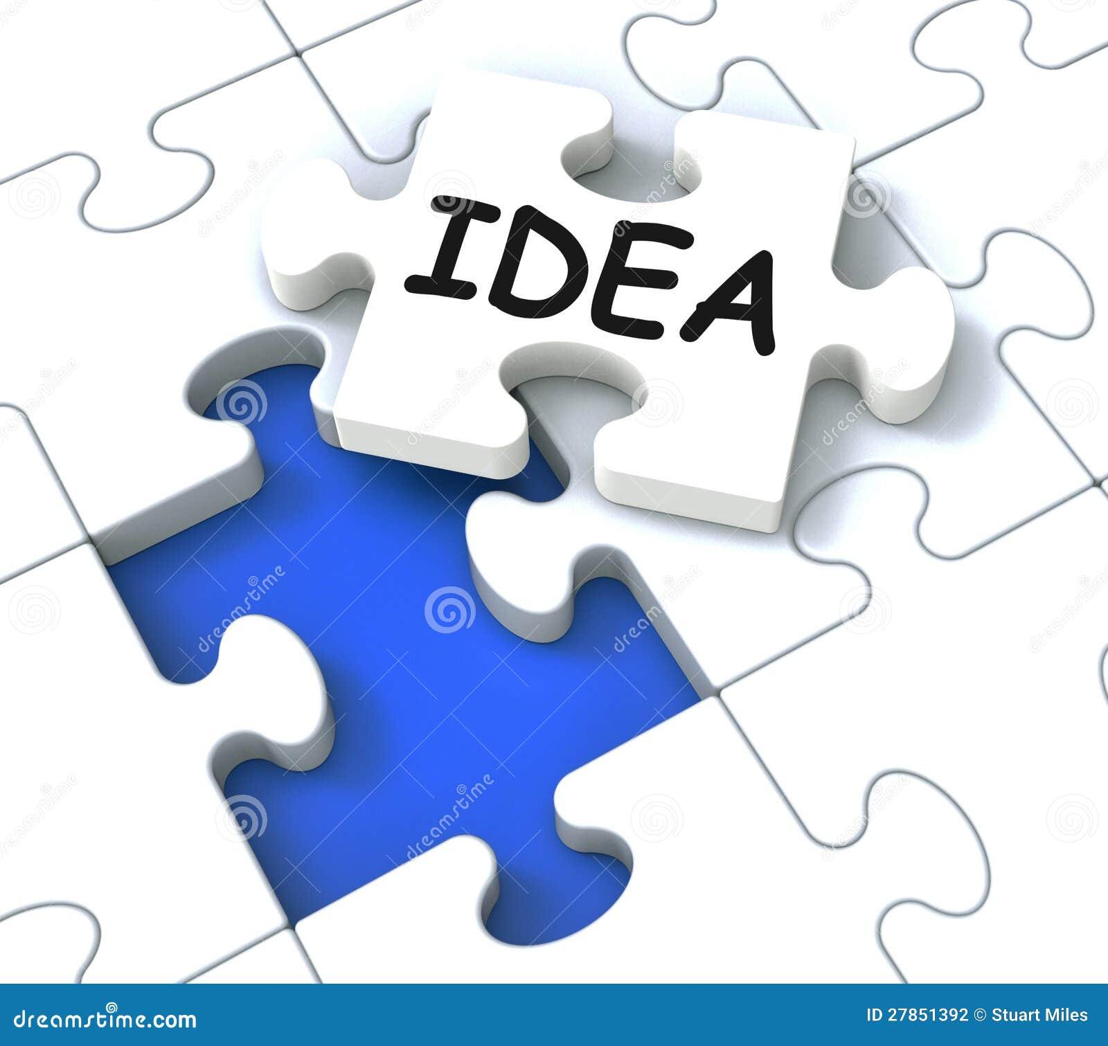 Pokazywać Kreatywnie Innowacje pomysł Łamigłówka